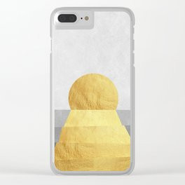 Landscape collage marble XVIII Clear iPhone Case