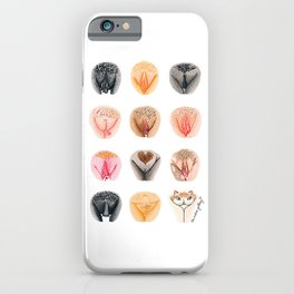 Vulva Diversity #1 iPhone Case