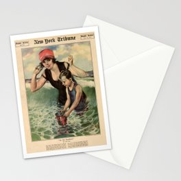At the Seashore 1919 Stationery Cards