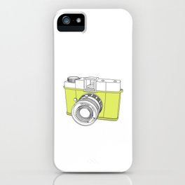 Diana F+ Glow - Plastic Analogue Camera iPhone Case