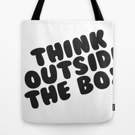 Get out of the box Tote Bag