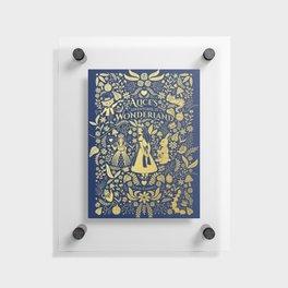 Alice in wonderland Floating Acrylic Print