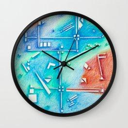 planning Life Wall Clock