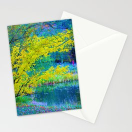 Lake Side Edge Stationery Cards