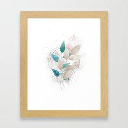 Botanical Abstract III Framed Art Print