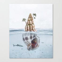 Seashell Island Canvas Print