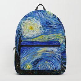 Van Gogh - Starry Night - High resolution Backpack