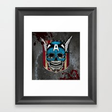 Captain-A Framed Art Print