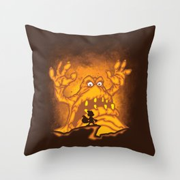 Smelly Boss Throw Pillow