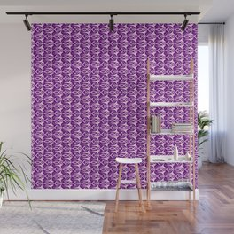 Winged Lavender Purple Wicked Winged Abstract Shapes Spirit Organic Wall Mural