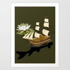 The Wandering dutch. Art Print