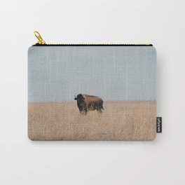 Lone Prairie Bison Carry-All Pouch