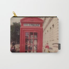 London Telephone Booth Carry-All Pouch