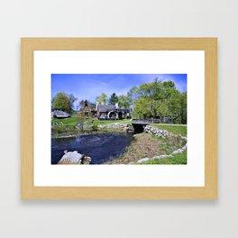 Historic New England Framed Art Print