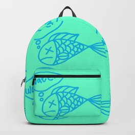 Dead fish Backpack