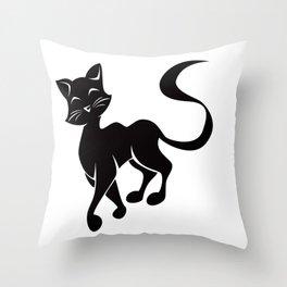 Silhouette Struts Throw Pillow