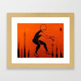 Manhattan Mayhem Framed Art Print
