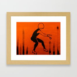 Manhattan Mayhem Framed Art Print