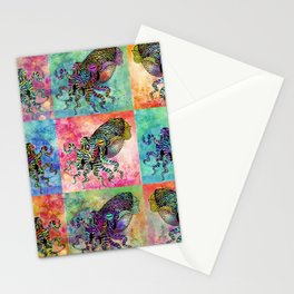 Cuttlefish Patchwork Stationery Cards