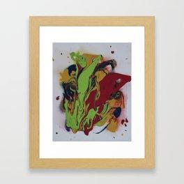 Candied Apples Framed Art Print
