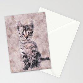 Kitten 2 Stationery Cards