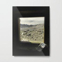 Muir Hut Window Metal Print
