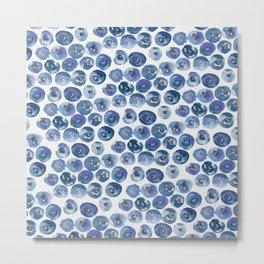 Blueberry Dreams Metal Print