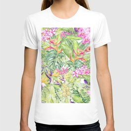 Tropical Garden 1A #society6 T-shirt