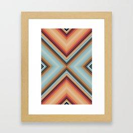 Brothers in Colour Desert Framed Art Print