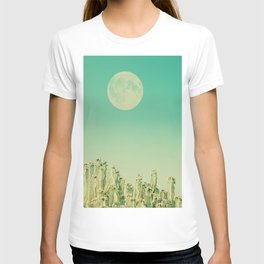 Moon over Cacti T-shirt