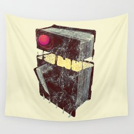 Rock,paper scissor series - PAPER Wall Tapestry