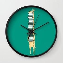 A book lover Wall Clock