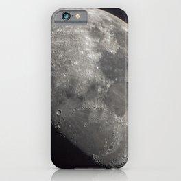 Waxing Gibbous Moon iPhone Case