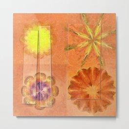 Internarial Concord Flowers  ID:16165-011657-19151 Metal Print