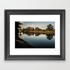 Dusk Downstream I Framed Art Print