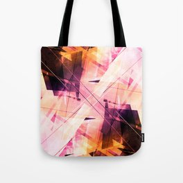Sunbound - Geometric Abstract Art Tote Bag