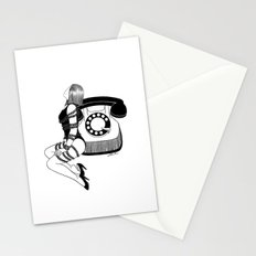 Waiting for your call Stationery Cards