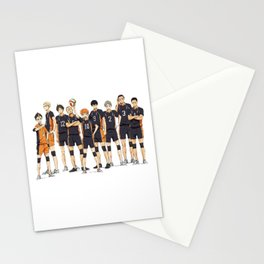karasuno after match Stationery Cards