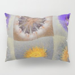 Sarcophagi Woof Flowers  ID:16165-112239-34720 Pillow Sham