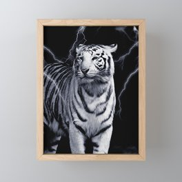 SPIRIT TIGER OF THE WEST Framed Mini Art Print