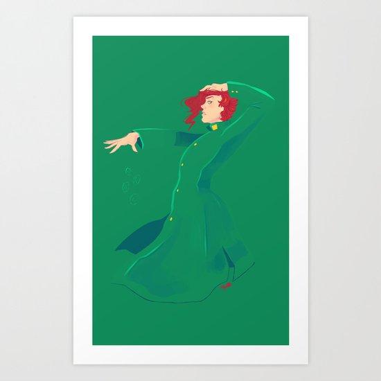 JJBA :: Kakyoin Art Print
