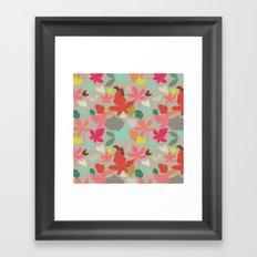 spring and fall Framed Art Print