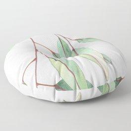 Eucalyptus Leaves One Floor Pillow