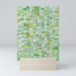 green 13 Mini Art Print
