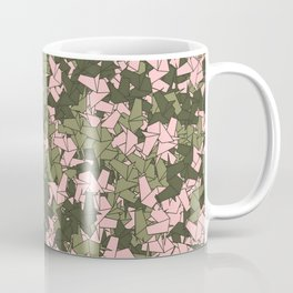 Origami Unicorn Camo PINK Coffee Mug