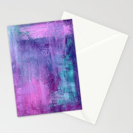 Purple Haze Background Stationery Cards