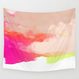 Particle of modernity Wall Tapestry
