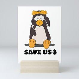 SAVE US Mini Art Print