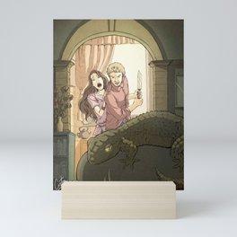 A modern St George Mini Art Print