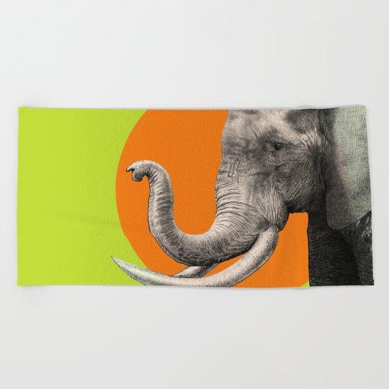Wild 6 - by Eric Fan and Garima Dhawan Beach Towel